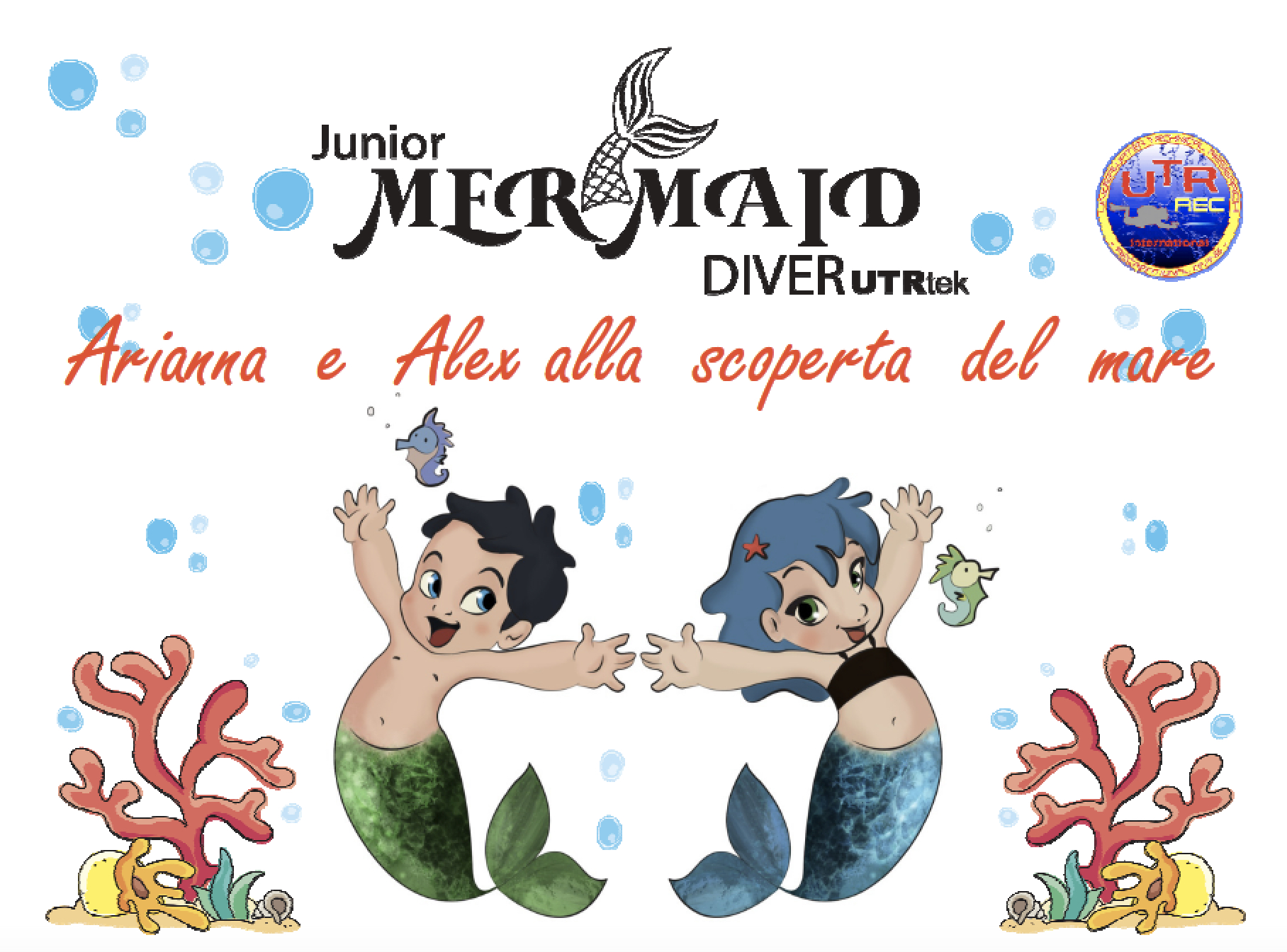 JUNIOR MERMAID DIVING
